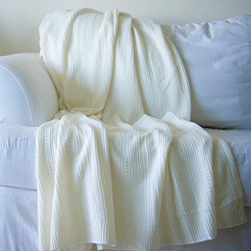 Knit Throw Blanket Pattern