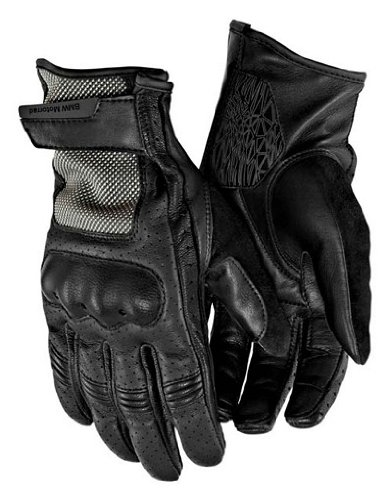 BMW Genuine Motorcycle Riding Airflow Glove 8 - 8.5 Black (Bmw Riding Gear compare prices)