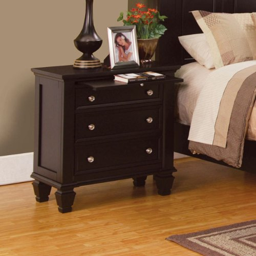Coaster Home Furnishings 201992 Country Nightstand, Cappuccino front-926518