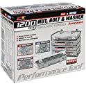 JEGS Performance W5226 1200pc Nut & Bolt Assortment