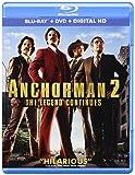 Anchorman 2: The Legend Continues (Blu-ray + DVD + Digital HD)