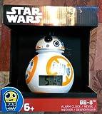 BB-8TM Light Up Alarm Clock スターウォーズ BB 8 ライトアップ目覚まし時計 [並行輸入品]