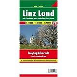 Linz Land mit Cityplanen Enns - Leonding - Linz - Traun. 1:10.000 - 1:12.500 - 1:75.000. Stadt + Bezirk.
