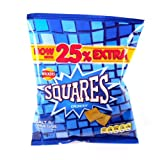 Walkers Squares Salt and Vinegar x 48 1200g
