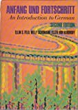 img - for Anfang Und Fortschritt: An Introduction to German book / textbook / text book