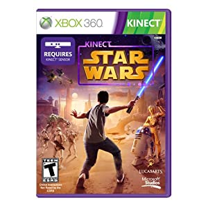 Kinect Star Wars XBox 360 Video Game