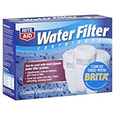 Rite Aid Water Filter Cartridges, 3 filters