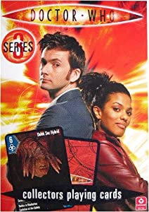 Doctor Dr Who Series 3 Collectors Playing Cards