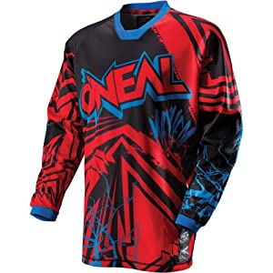 O'Neal Racing Mayhem Roots Youth Boys MotoX Motorcycle Jersey - Red/Black / Large