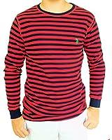 U.S. Polo Assn. Men's Stripe Long Sleeve Pullover Shirt