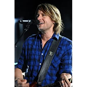 Keith Urban Poster Plaid Shirt Singing