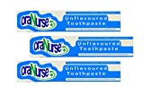 3 Pack Oranurse 50ml Unflavoured Toothpaste