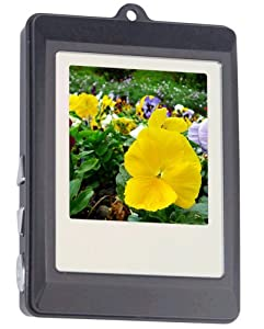 Curtis DPF151 1.5-Inch Digital Photo Frame Key Chain (Black) by Curtis