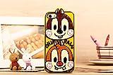 Disney ディズニー iphone6 ケース 携帯ケース チップとデール クラリス アイフォン ケース (iphone6)