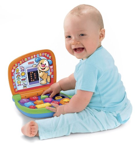 Fisher-Price Laugh and Learn portátil elegante de la pantalla