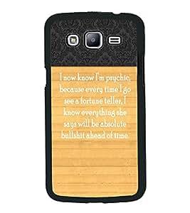 PrintVisa Metal Printed Quotes Designer Back Case Cover for Samsung Galaxy J5-D4959