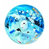 Aqua Leisure Uncle Bobs Winter Inflatable Round Air Penguin Snow Tube Sled For 2 (Two) Riders On Sle