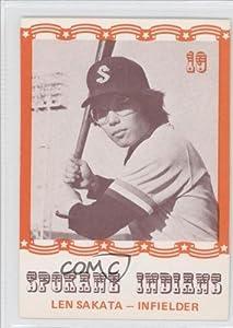 Len Sakata Lenn Sakata (Baseball Card) 1976 Spokane Indians Caruso #19 by Spokane Indians Caruso