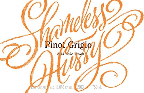 "2013 Hard Row To Hoe ""Shameless Hussy"" Pinot Gris Orange/Copper Wine 750 Ml"