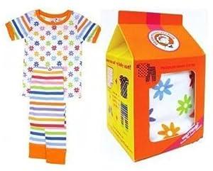 Children's Gift Set MissMatched Pajama Top & Bottoms Size 3T / 4T