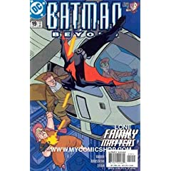 Batman Beyond (2nd Series) 19 by HILARY BADER