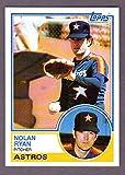 Nolan Ryan 1983 Topps Card (Hall Of Famer)