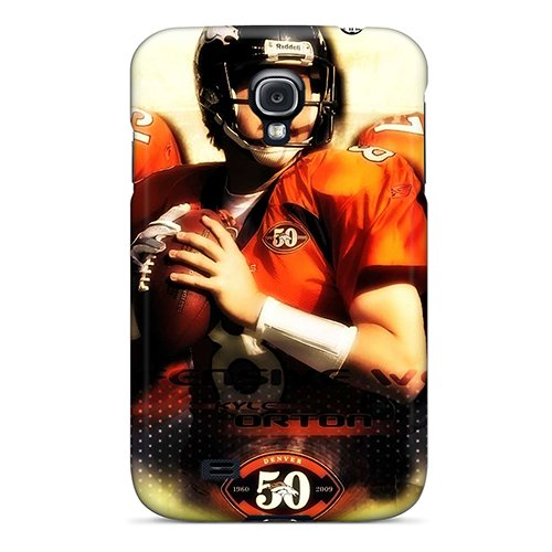 Hot Xccteyd4714 Denver Broncos Tpu Case Cover Compatible With Galaxy S4