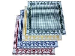Maghso 4-Piece Heart Kitchen Towel Set