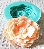 【Petit Cadeau】かわいい シリコン モールド お花型 1F レジン ハンドメイド 雑貨 キャンドル 型抜き など