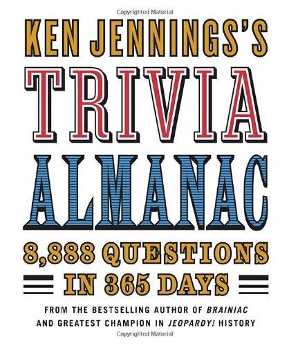 Ken Jennings Trivia Almanac