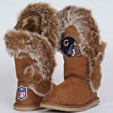 NFL Cuce Shoes Chicago Bears Ladies Fanatic Boots - Tan (8) at Amazon.com