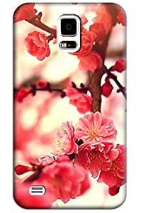 Sangu Cherry Red Hard Back Shell Case / Cover for Samsung Galaxy S5 from Sangu