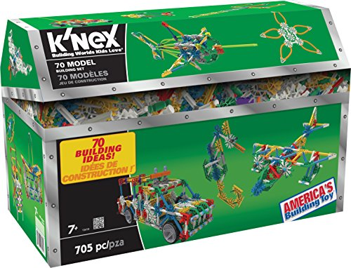 K'NEX 70 Model Building Set - 705 Pieces - (Engineering Education Toy)