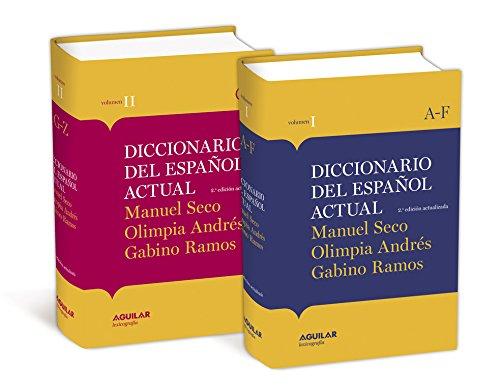 Diccionario del Español actual: (2ª edición actualizada) (DICCIONARIOS M. SECO)