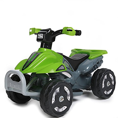6V-Battery-Electric-Powered-Wheels-Quad-Junior-Kids-Ride-on-Toys-Green