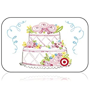 Wedding Gift Card Target : wished Floral Wedding Cake GiftCardUSD100Traditional Gift Card ...