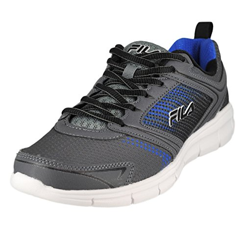 Fila Men's Windstar 2 Running Shoe, Castlerock/Monument/Prince Blue, 10.5 M US