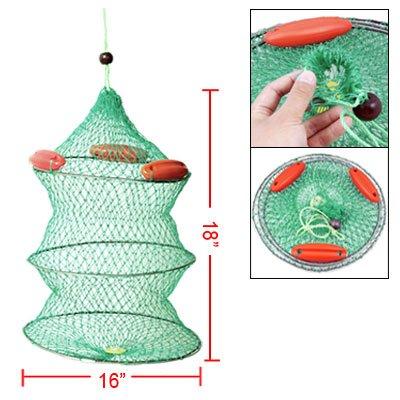 Como Lobster Eels Trap Keeping Foldable Fishing Net Green