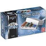 Cartamundi Diamond 100 Poker Chips in Plastic Box