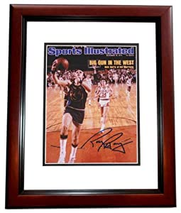 Rick Barry Autographed Hand Signed Golden State Warriors 8x10 Photo - MAHOGANY CUSTOM... by Real Deal Memorabilia
