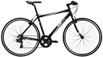 SE Bikes Monterey 21-Speed Hybrid Bicycle, 19-Inch, Black