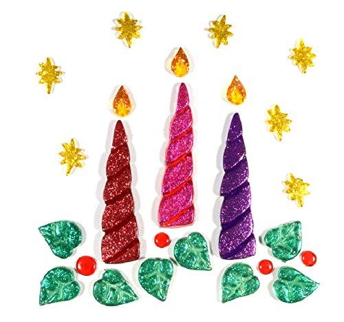 Gel gems v2tss06t00 outlook candele glitter decorazioni for Decorazioni autoadesive