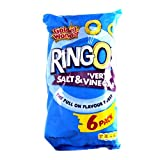 Golden Wonder Ringos Salt & Vinegar 6 Pack 150g