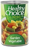 Healthy Choice  Garden Vegetable Soup, 15-Ounce Units (Pack of 12)