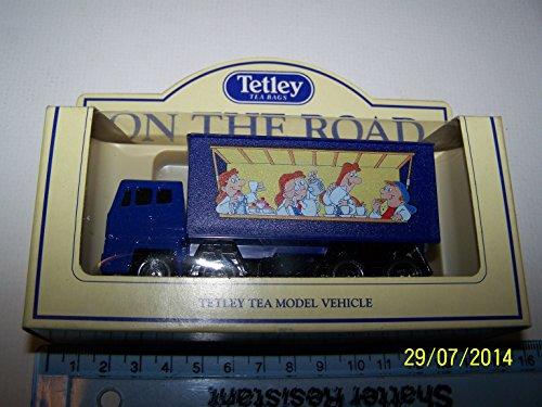 LLEDO TETLEY TEA MODEL.Delivery Truck 1992.TETLEY ON THE ROAD.