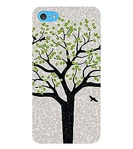 HiFi Designer Phone Back Case Cover Apple iPhone 6 Plus :: Apple iPhone 6+ ( Tree Look Oil Paint Look )