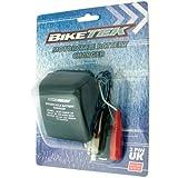 BikeTek ATV/Quad Bike, Caravan, Jetski, Motorcycle Battery Trickle Charger - UK 3 Pin