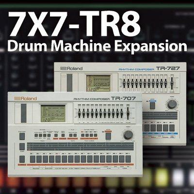 Roland ローランド / AIRA 7X7-TR8 Drum Machine Expansion