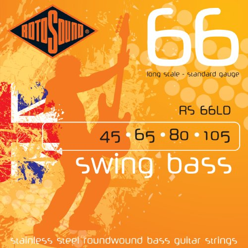 Rotosound Swing Bass 66 Long Scale Bass Guitar