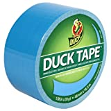Duck Brand 1311000 Colored Duct Tape, Light Blue, 1.88-Inch by 20 Yards, Single Roll